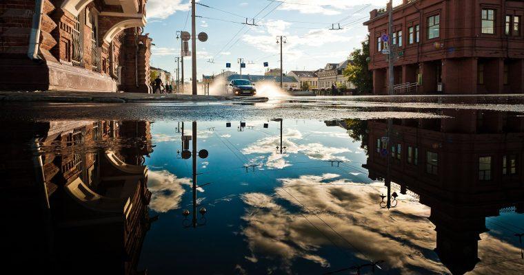 Spiegelungen fotografieren – Seen & Pfützen